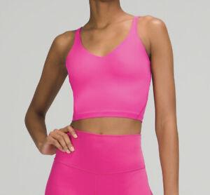Lululemon Align Tank Sonic Pink Size 4 New with Tags Sold Out FREE SAME DAY SHIP