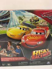 Disney/Pixar Cars 3 - Risky Raceway-Board Game Brand New