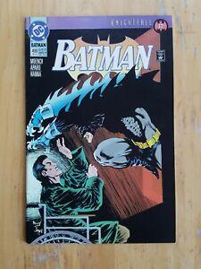 Batman, #499 (1993, DC Comics) High Grade. Knightfall