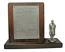 New ListingSebastian Miniature Pf-025 Lee's Ninth General Order Hudson Pewter Rare