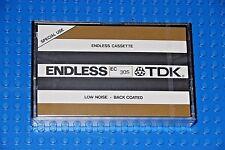 TDK  ENDLESS CASSETTE  EC-30S  30 SECOND BLANK CASSETTE  TAPE (1) (SEALED)