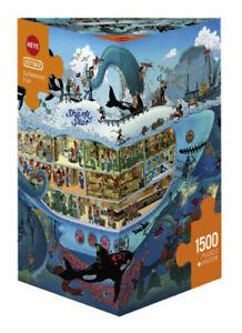 Heye Puzzles - Triangular, 1500 Piece - Submarine Fun  HY29925