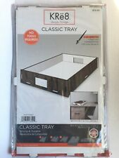 KRe8 Lifestyle Storage Tray Reversible Collapsible Strong & Durable No Tools