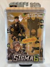 GI Joe Sigma 6 Codename: Tunnel Rat Action Figure *NEW* with Working Sled 2005