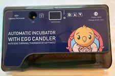 Mini Automatic Eggs Incubator for Chicken Duck Birds Auto Egg Turning Triocottag
