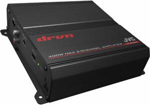 Jvc KS-DR3002 Class AB car radio add on amp amplifier 400w 2 channel New