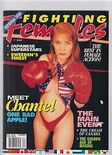 Fighting Females magazine Summer 1998  wrestling boxing