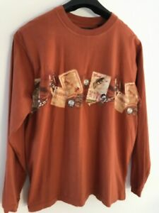 Redhead Mens Long Sleeve T Shirt Fishing Hunting Outdoors XL