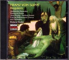 Franz von SUPPE: REQUIEM d-moll Baranska Suska Knetig Roland Bader Suppé KOCH CD