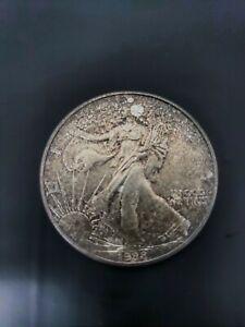1988 United States of America 1 oz fine silver one dollar