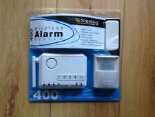 NEW STERLING 400WKIT WIRELESS ALARM SYSTEM KIT COMPLETE WITH EXTRAS