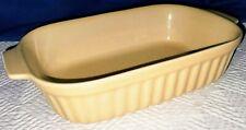 PFALTZGRAFF 32 oz 1 Qt  Rectangular Serving BAKING DISH Vintage YELLOW1983 FTDA