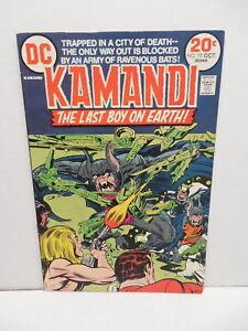 Kamandi Last Boy On Earth DC Bronze Age Comic Book #10 Jack Kirby Art