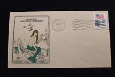 DRW NAVAL COVER #44A 1ST SEA TRIAL USS PORTSMOUTH (SSN-707) 1983 MACHINE CANCEL
