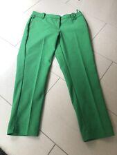 Laura Ashley Vibrant Green Slim Leg Tailored Trousers Size 12