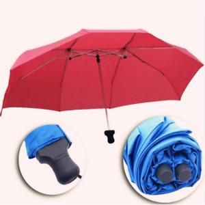 Creative Femme/Femme Couples Mère et Enfants Parapluie 3 Pliage Non-automatique