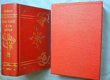 THE LORD OF THE RINGS: J.R.R. TOLKIEN COLLECTOR'S EDITION 1987 HC IN SLIPCASE