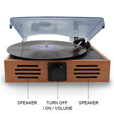 Looptone 3 Speed Turntable Retro Vinyl  Record Player  with USB/SD Recording