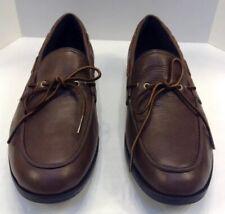 Cole Haan Men 11.5 M Air Mason Camp Moc Toe Shoes Dark Brown Leather $148 C11089
