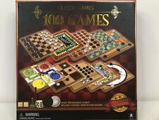 Ambassador Classic Games 100 Classic Games Family Game Night Checkers Crokinole
