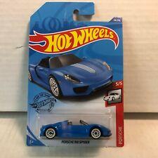 Porsche 918 Spyder #94 * Blue * 2020 Hot Wheels Case E * B27