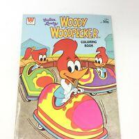 1978 Walter Lantz Woody Woodpecker Coloring Book Whitman Publishing
