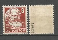 DDR postfrisch  329 zXII mit Rand  Köpfe II   tiefst geprüft  Schönherr