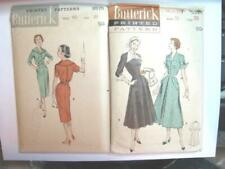 New ListingVintage 1940s 00006000  Lot Two Butterick Sewing Patterns~Cut & Complete~Size 20