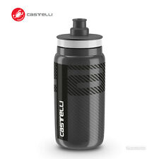 Castelli Water Bottle by Elite BPA Free : 550ml ANTHRACITE
