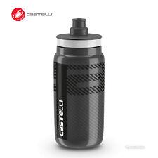Castelli Water Bottle by Elite BPA Free : 550ml ANTHRACITE