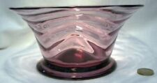 Bowl Italy/Venetian Art Deco Date-Lined Glass (c.1910-c.1939)