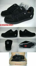 New Mens 8 ELEMENT Columbia Black Gray SUEDE Skateboard Shoes