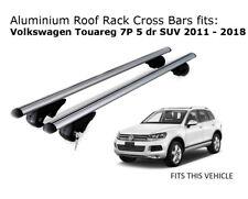 Aluminium Roof Rack Cross Bars fits Volkswagen Touareg 2011-2018