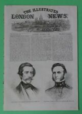 Stonewall Jackson  The Illustrated London News  December 6, 1862  Emperor  Nero