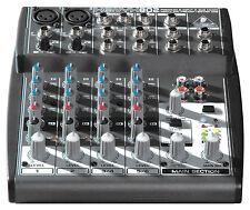 Behringer 802 Xenyx Small Format Mixer Mic Pre-amp Pro Mixer DJ Audio Studio