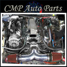 BLACK-RED 1994-1996  CHEVY IMPALA SS CAPRICE 4.3L 5.7L V8 DUAL AIR INTAKE KIT