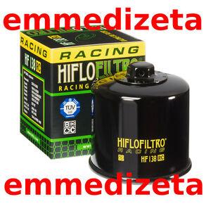 FILTRO OLIO HIFLO HF138RC RACING HF138 RC Aprilia Suzuki