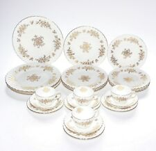 Minton Part Dinner Service For 4, Audley.