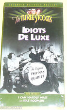 The Three Stooges - Idiots Deluxe NEW sealed VHS!  Nice See!