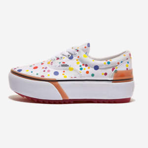 Vans Era Stacked Floral White Women's Shoes - VN0A4BTO4GG Expeditedship