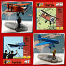 """808) 2 avions """"En avion Tintin"""" numéros 28 et 31 + livrets - Coll. Moulinsart"""