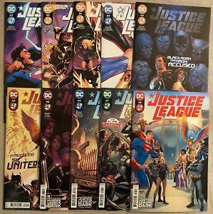Justice League #59-68 complete set * 60 61 62 63 64 65 66 67 2021 Bendis 2018