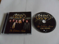 STYX - Live at the Orleans Arena/Las Vegas (CD 2015)