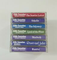 Cliffs Cassettes Companion Cassette Lot of 7 Tapes SEE DESCRIPTION FOR TITLES