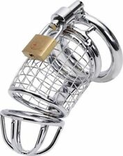 New Hot Metal Sexy male chastity belt device Slave dick cage,cock lock