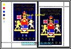 2x CANADA 1987 CANADIAN CHARTER OF RIGHT FV FACE 72 CENT MNH CORNER STAMP LOT