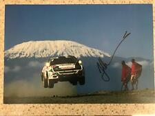 "JUHA KANKKUNEN - Toyota Celica Turbo 4WD signed 12""x8"" photo"
