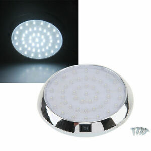 Car Interior Dome Roof Ceiling Light 46 LED White Bright Round Lamp Bulb DC 12V