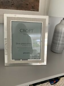 New John Lewis Silver Plated Photo Frame