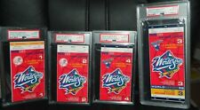 NY YANKEES WORLD SERIES TICKET STUBS 1998 DEREK JETER COMPLETE SET COUR FOUR PSA